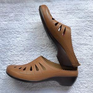 Tan leather NWT